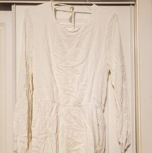 Dresses & Skirts - Long Sleeve Short Romper - LULUS size XL